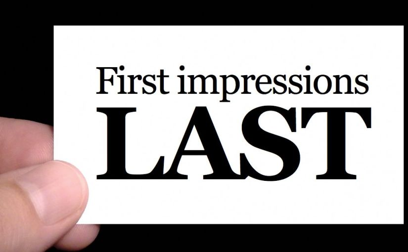 The First 60 Seconds: First Impressions and Lost Opportunities